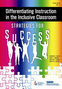 Differentiating Instruction in the Inclusive Classroom Book