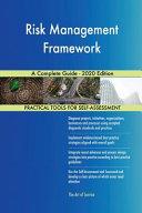 Risk Management Framework A Complete Guide   2020 Edition Book