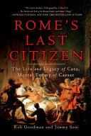 Pdf Rome's Last Citizen