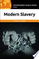 Modern Slavery  A Reference Handbook