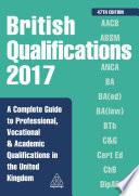 British Qualifications 2017