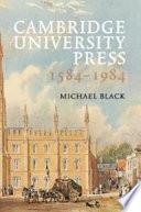 Cambridge University Press 1584-1984