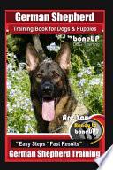 German Shepherd Training for Dogs & Puppies by BoneUP Dog Training