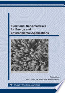 Functional Nanomaterials for Energy and Environmental Applications