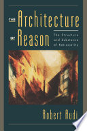 The Architecture Of Reason Book