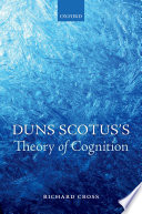Duns Scotus's Theory of Cognition