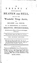 A Treatise Concerning Heaven and Hell, and of the Wonderful Things Therein, as Heard and Seen ebook