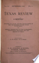 Texas Review Book PDF