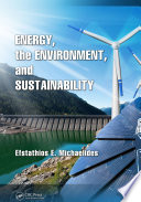 Energy  the Environment  and Sustainability