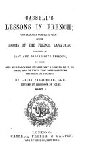 Cassell's Lessons in French, etc