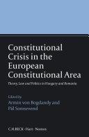 Constitutional Crisis in the European Constitutional Area