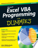List of Dummies Vba E-book