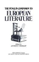 THE PENGUIN COMPANION TO EUROPEAN LITERATURE