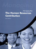 Managing Risk  The HR Contribution