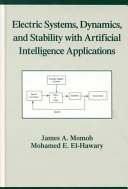 Electric Systems, Dynamics, and Stability with Artificial Intelligence Applications ebook