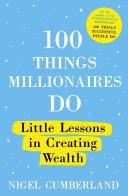 100 Things Millionaires Do [Pdf/ePub] eBook