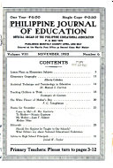Philippine Journal of Education