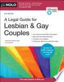 A Legal Guide for Lesbian   Gay Couples Book