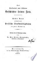 Des Prokopius von Cäsarea Geschichte seiner Zeit. Uebersetzt und mit Erläuterungen versehen von P. F. Kanngiesser
