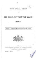 Annual Report of the Local Government Board ...