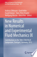 New Results In Numerical And Experimental Fluid Mechanics Ix Book PDF