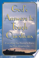 God's answers to tough questions