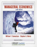 Managerial Economics, Sixth Edition for CSLB