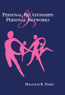 Personal Relationships and Personal Networks Pdf/ePub eBook