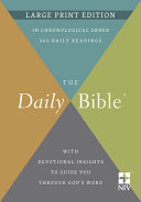 The Daily Bible r  Large Print Edition
