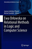 Ewa Or  owska on Relational Methods in Logic and Computer Science