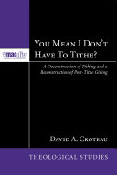 You Mean I Don't Have to Tithe? ebook