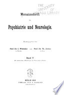 Psychiatria Et Neurologia