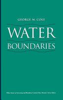 Water Boundaries ebook