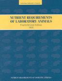 Nutrient Requirements of Laboratory Animals, Pdf/ePub eBook