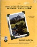 Geologic Resources of Summit County, Utah