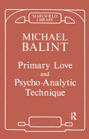 Primary Love and Psychoanalytic Technique Pdf/ePub eBook