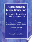 Assessment in Music Education Book PDF