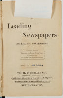 Blue Book Of Leading Newspapers For Leading Advertisers