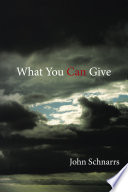 What You Can Give