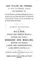 L entente Cordiale  a Self interpreting Guide to Paris  for the Exhibition  1855