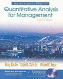 Cover of Quantitative Analysis for Management