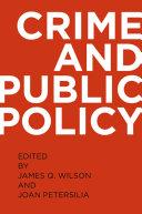Crime and Public Policy Pdf/ePub eBook