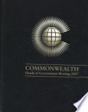 Commonwealth Heads of Government Meeting 2007 Book