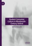 Student Consumer Culture in Nineteenth-Century Oxford Pdf/ePub eBook