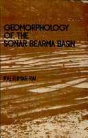 Geomorphology of the Sonar Bearma Basin