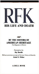 rfk his life and death
