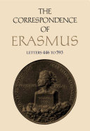 The Correspondence of Erasmus  Letters 446 to 593  1516 1517