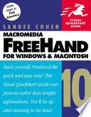 Macromedia FreeHand 10 for Windows and Macintosh