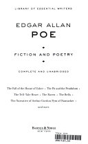 Fiction and Poetry