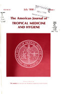 The American Journal of Tropical Medicine and Hygiene
